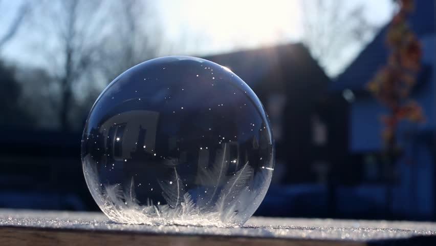 Frozen bubble ice | Shutterstock HD Video #33239764