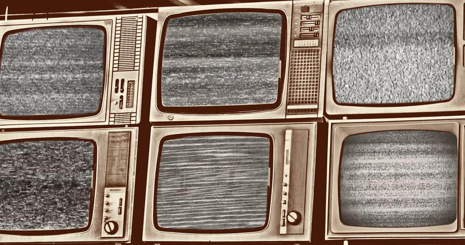 television, tv, static, media, reception, signal, Footage