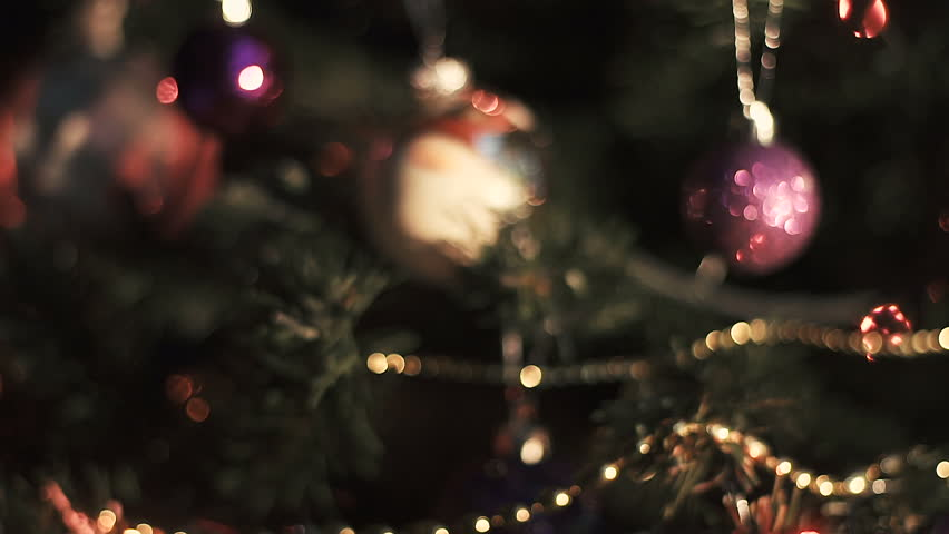 A christmas tree decorated | Shutterstock HD Video #33262747