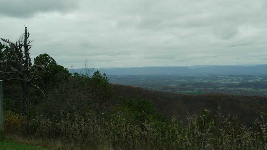 Header of Blue Ridge Mountains