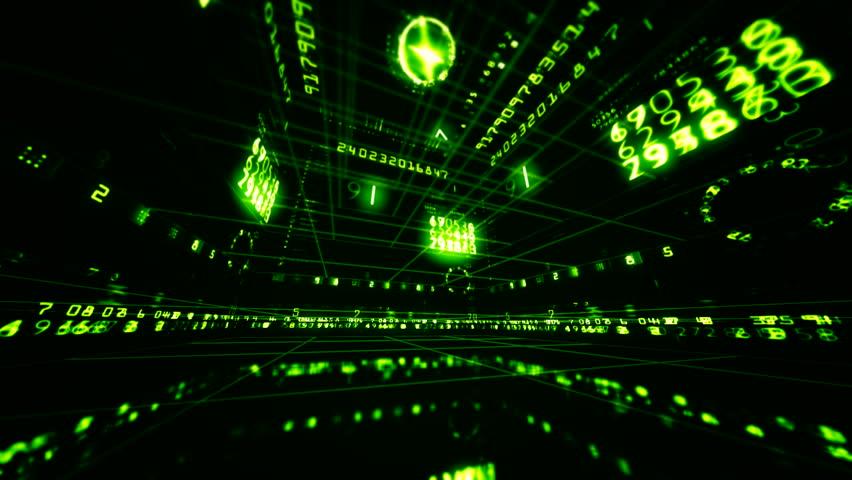 Virtual room for scientific studies  | Shutterstock HD Video #3333347