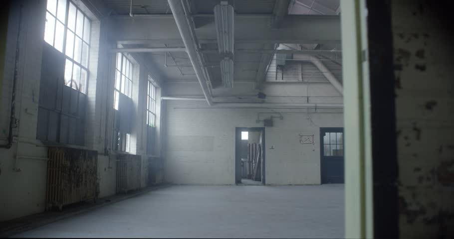 Empty abandoned warehouse | Shutterstock HD Video #33363397