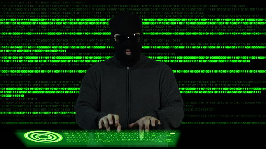 Hacker Breaking System Thinking 2 | Shutterstock HD Video #3337937
