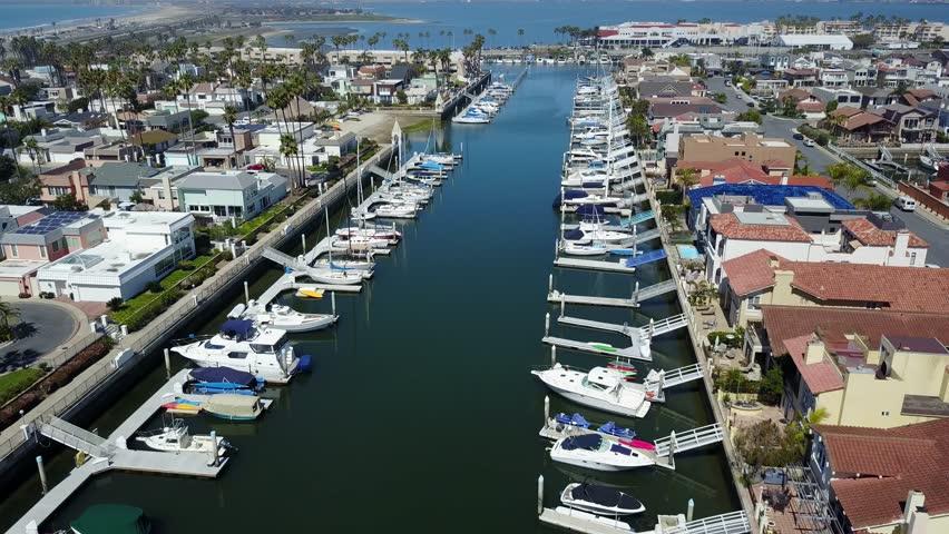 San Diego - Coronado  Cays - Drone Video