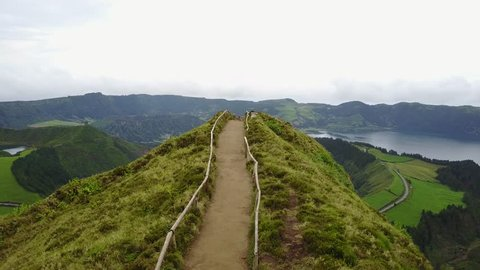 The astonishing Lagoon of the Seven Cities (Lagoa das 7 cidades) - Azores - Portugal