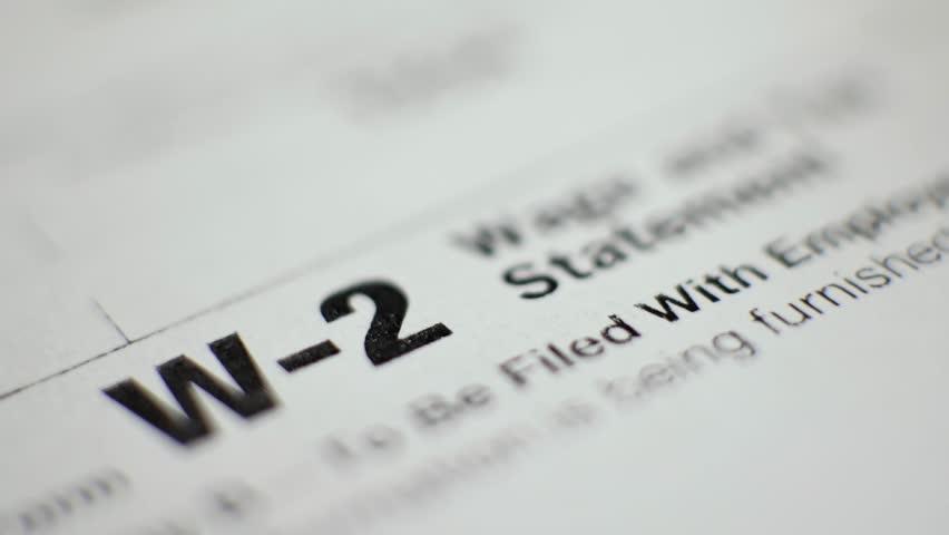 Header of W-2