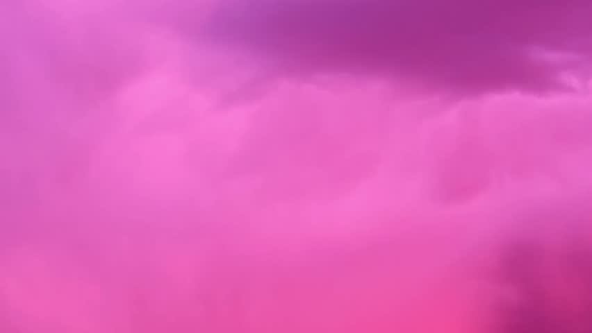 nature clouds time lapse real pink skies fast moving pink over clear weather