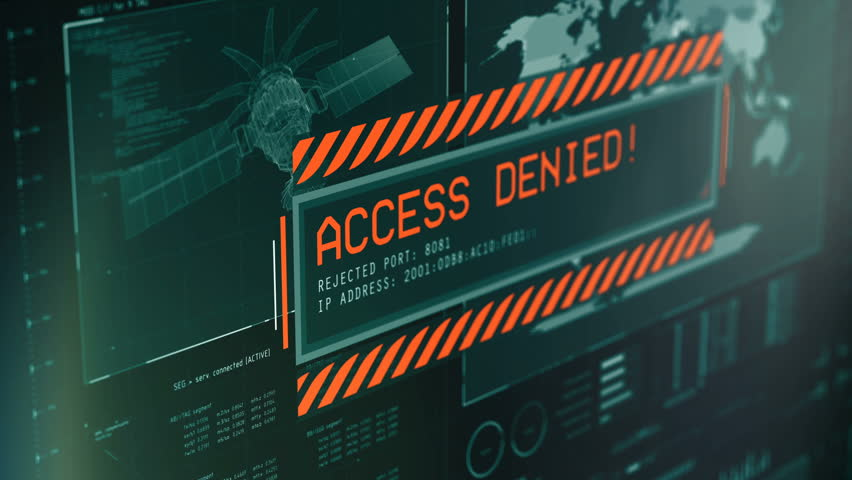 Security Message Access Denied, Failed Stock Footage Video (100%  Royalty-free) 33710767 | Shutterstock