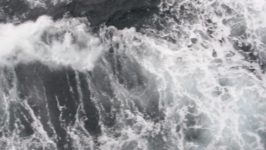 Ocean waves (top view). Antarctica   Shutterstock HD Video #3419600
