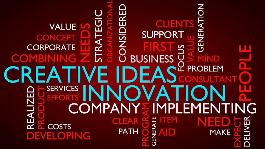 Creative Idea, Innovation Word Tag Stock Footage Video (100% Royalty-free)  34299517   Shutterstock