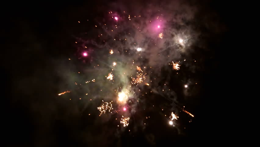 Beautiful fireworks video in celebration day. This salute can be seen at the opening of the festival , on independence day, new year and other holidays, loop