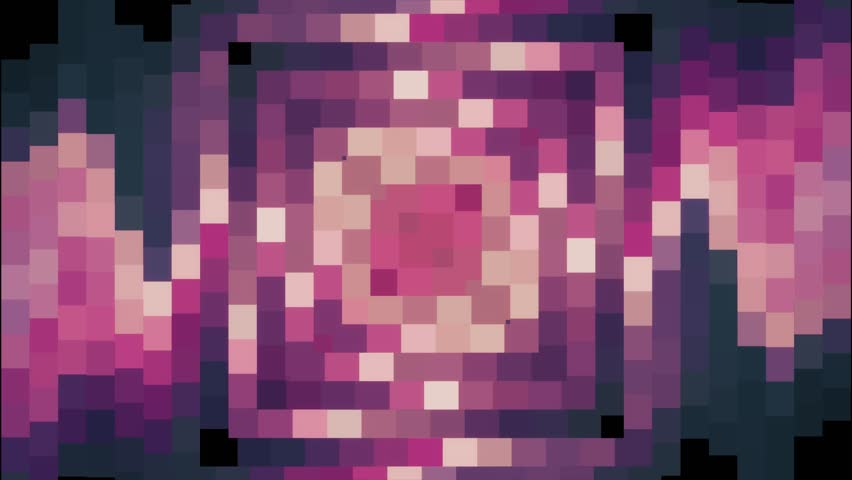 Abstract soft pink color moving square pixel block background animation New quality holiday universal motion dynamic animated colorful joyful glamour retro vintage dance music video footage | Shutterstock HD Video #34616587