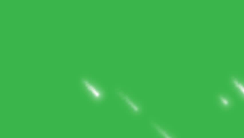 Falling stars on green screen. Christmas background. | Shutterstock HD Video #35060077