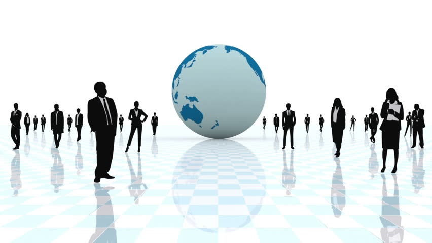 3D. Concept regarding business and world globalized.  | Shutterstock HD Video #3520637