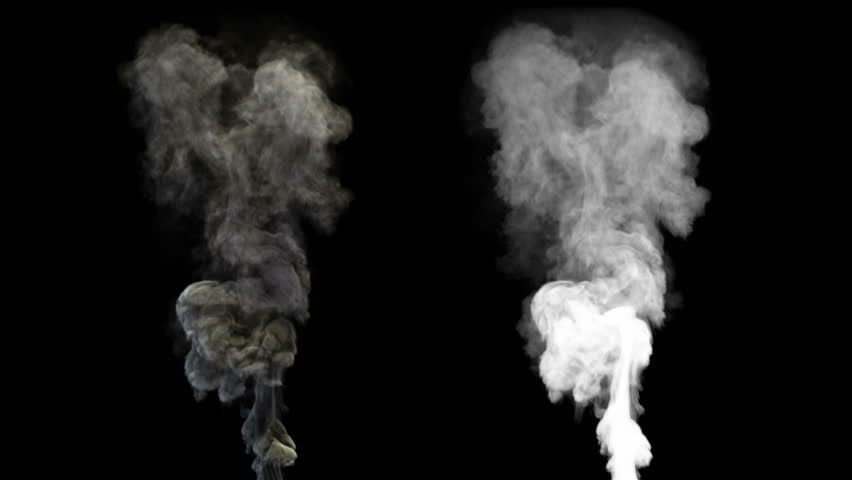 High-detailed smoke with alpha (high definition, 1080p, seamless loop)