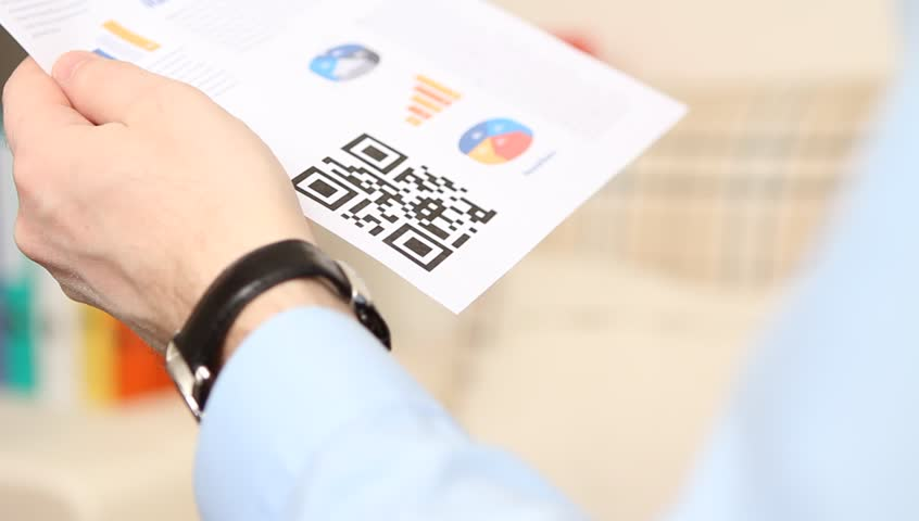 QR code scanning on mobile phone | Shutterstock HD Video #3532787