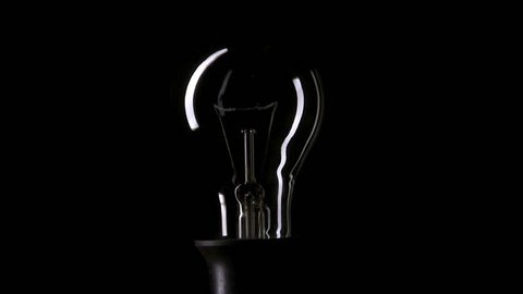 Real Light Bulb Flickering and Stock Footage Video (100