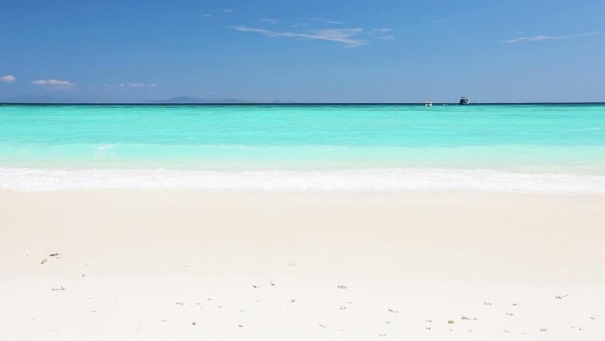 Tropical sea coast in sunny day #3575789