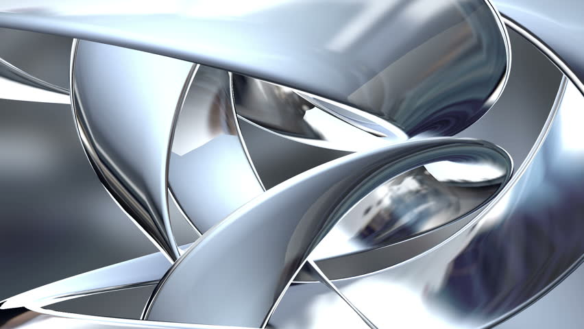 Abstract background with chrome colored spheres. Progressive scan, seamlessly loop-able.