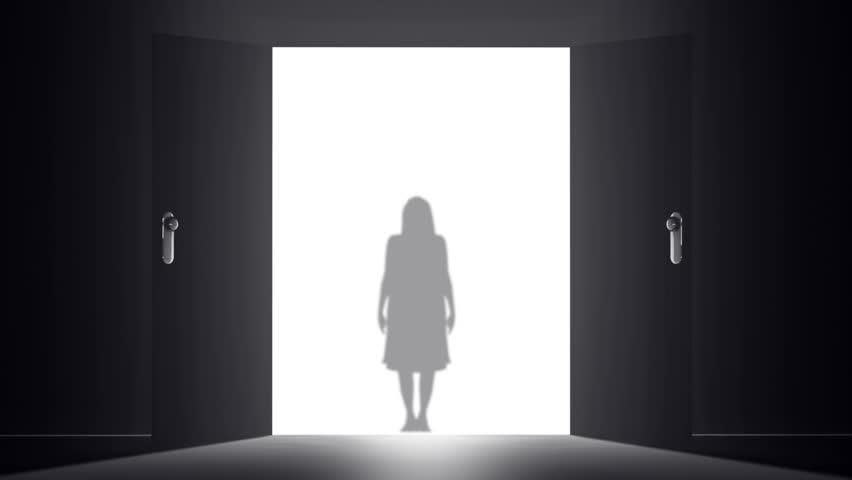 Mysterious Door - HD stock video clip & Mysterious Door To Heaven | New Opportunity Yurei Japanese Ghost ...