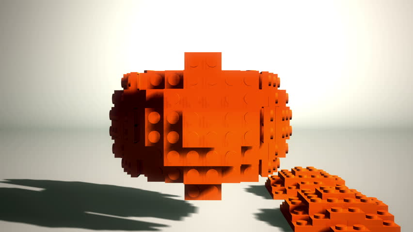Abstract Lego Block Sphere Construction | Shutterstock HD Video #3661967