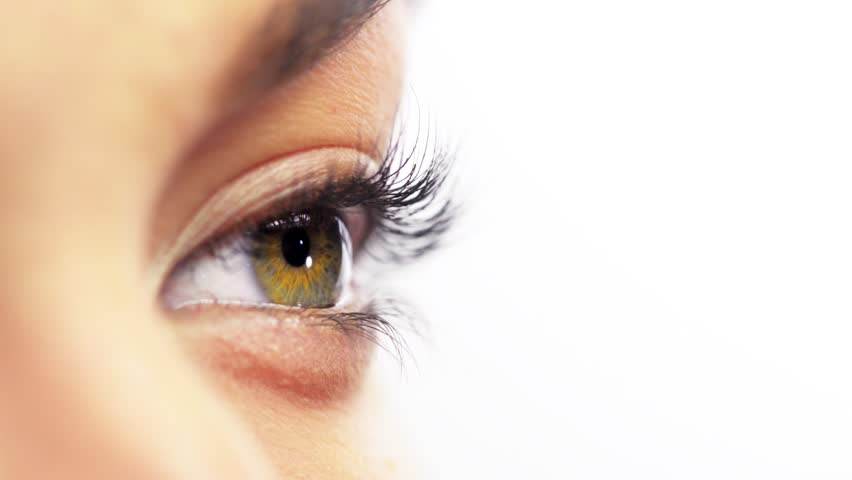 Macro Close-up eye blinking | Shutterstock HD Video #3662477