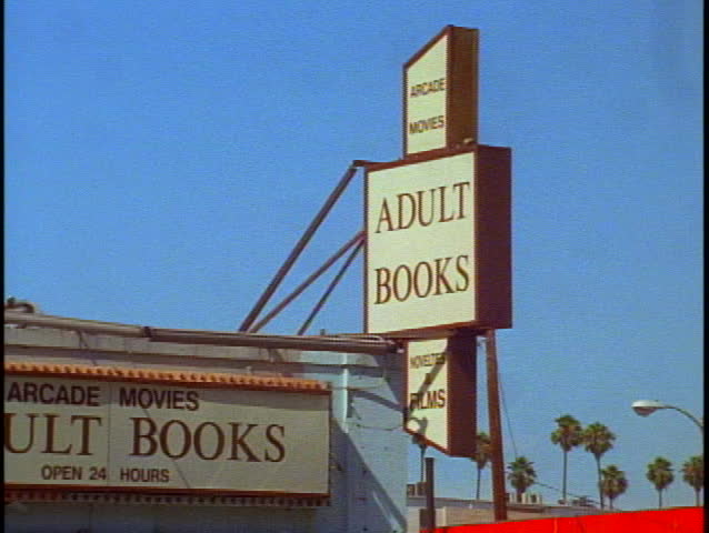Adult book store videos