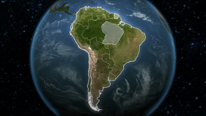 Argentina Map Stock Footage Video Shutterstock - Argentina globe map