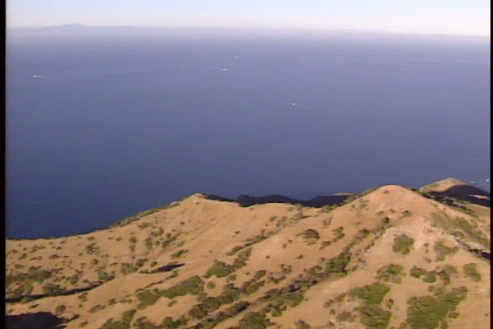 Aerial view of Catalina island   Shutterstock HD Video #3745673