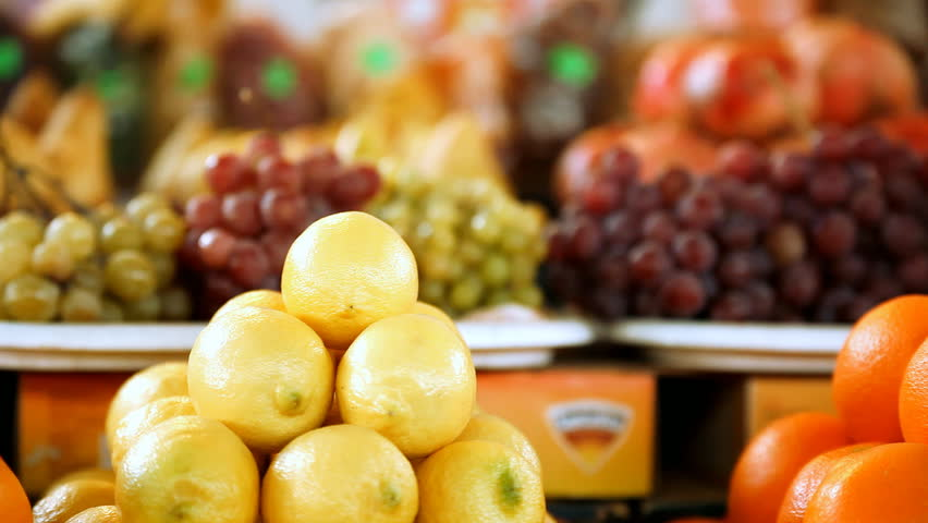 Beautiful dynamic view of healthy fruits food | Shutterstock HD Video #3746417