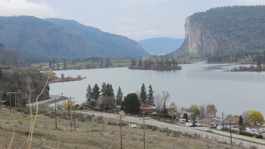 McIntyre Bluff along #3 Highway near Osoyoos, British Columbia/McIntyre Bluff/McIntyre Bluff on the Hope-Princeton Highway near Osoyoos, British Columbia
