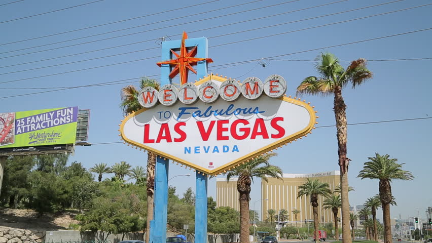 Welcome to Las Vegas sign | Shutterstock HD Video #3767837