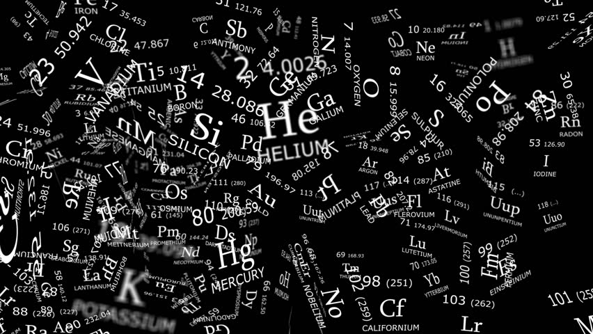 Periodic table reconstruction from chaos with 3d elements on pure periodic table reconstruction from chaos with 2d layers on pure black background hd stock video urtaz Choice Image