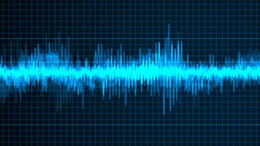 Frequency Sound Wave Stock Footage Video (100% Royalty ...