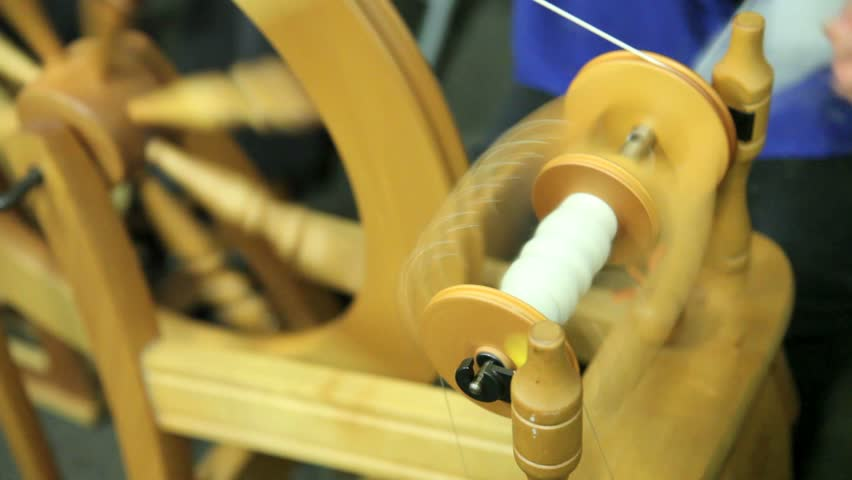 Sexy sex clip spinning wool