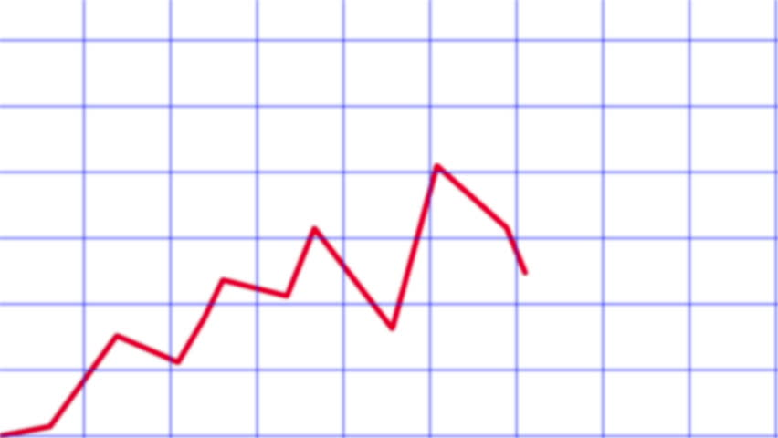 Line chart ascending. Animated line graph  | Shutterstock HD Video #3879323