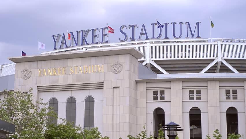 NEW YORK - MAY 15: Yankee Stadium on May 15, 2013 in New York. Yankee Stadium is located in The Bronx in New York City, and is the home of the New York Yankees Major League Baseball franchise.