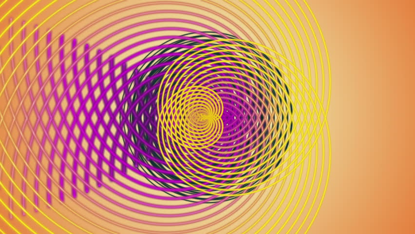 Fantastic video animation with stripe object in motion, loop HD 1080p | Shutterstock HD Video #3949427