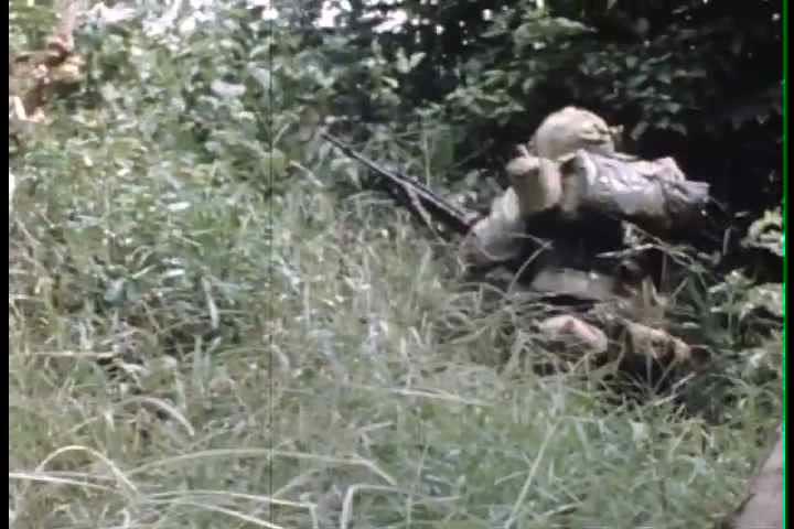 1960s - On the ground troop combat footage in Vietnam War in 196.