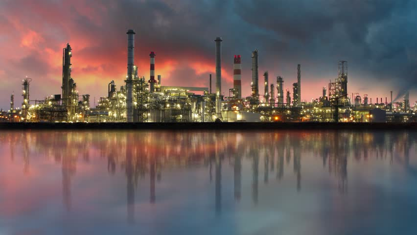 Oil refinery - Industry plant | Shutterstock HD Video #3969193