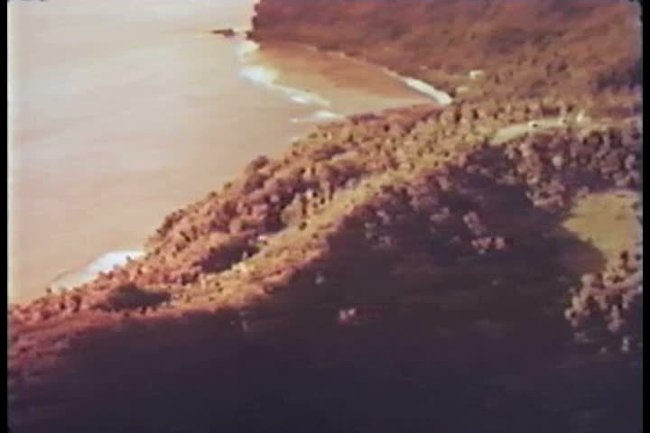 1960s - South Pacific nuclear tests on Johnston Island in 1962. - SD stock footage clip