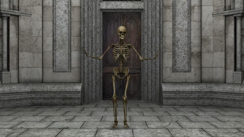 Skeleton | Shutterstock HD Video #3987637