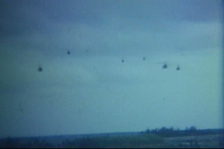 1970s - Day to day combat operations of US troops in Hoi An, South Vietnam ca. 1974.