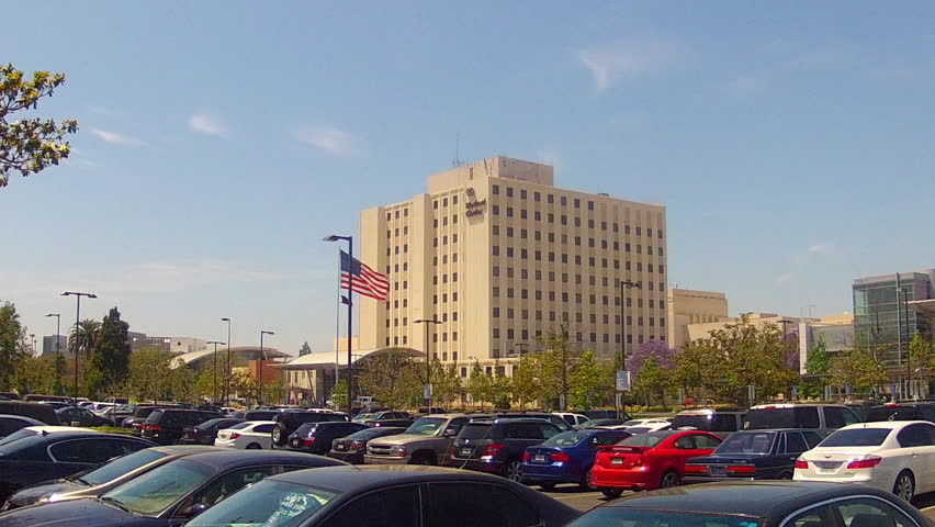 Long Beach Ca May 20 2017 A Medium Shot Of The Central Buildings And Parking Lot Veteran S Affairs Medical Center Complex Circa In