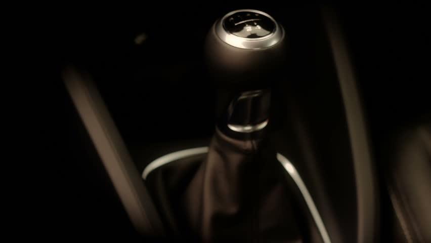 Manual Automotive Gear Lever Change.