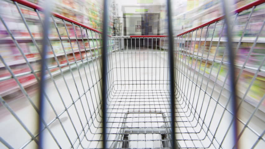 Grocery Shopping, Time Lapse | Shutterstock HD Video #4115746