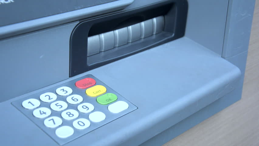 Withdraw money at ATM machine