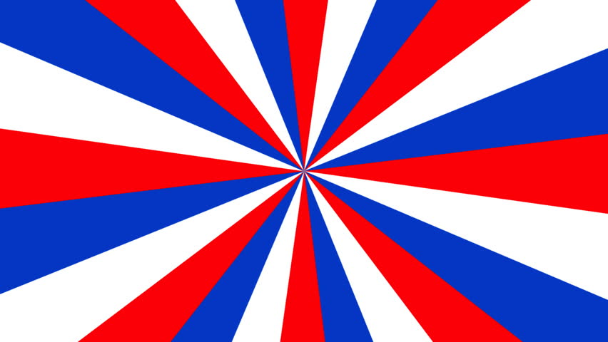 Hd0009a Seamless Looping Red White And Blue Pinwheel