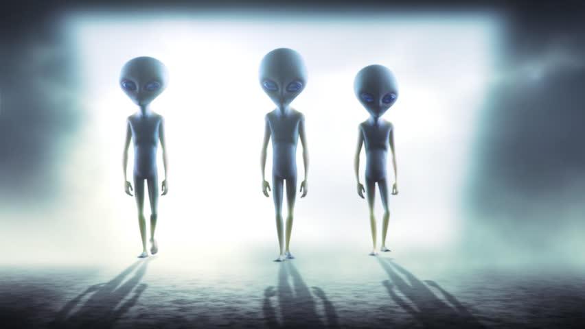 Aliens | Shutterstock HD Video #4177777