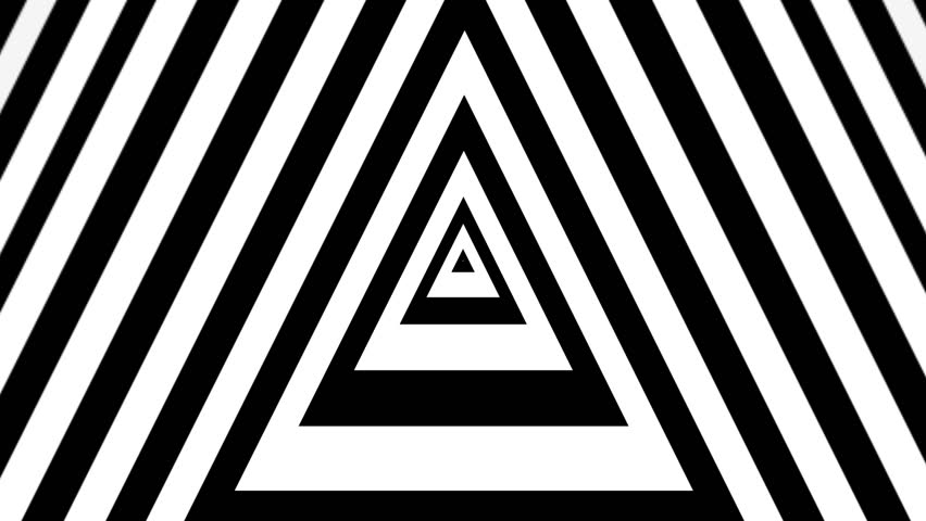 concentric triangles animation.
